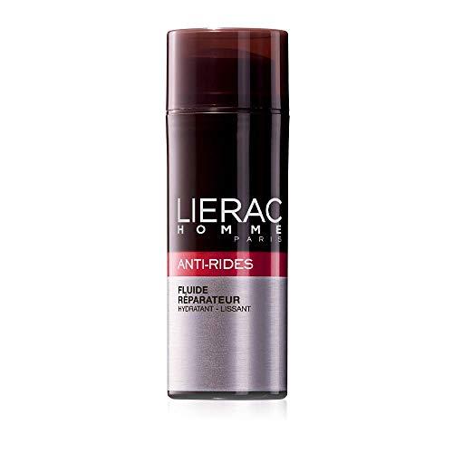 LIERAC HOMME ANTI-RUGHE Fluido anti-rughe riparatore idratante levigante - Vitamina C - Viso - Uomo - 50ml