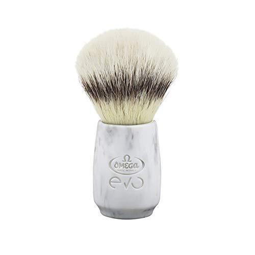 Omega evo Stone Ovale pennello da barba
