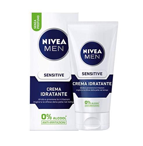Nivea Men Sensitive Crema Idratante Uomo, 75ml