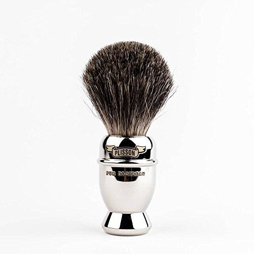 Pennello da barba dimensioni 12puro grigio 955422