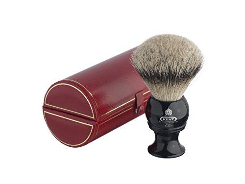 Kent Pure Badger Silver tip Bristle Shaving Brush extra large