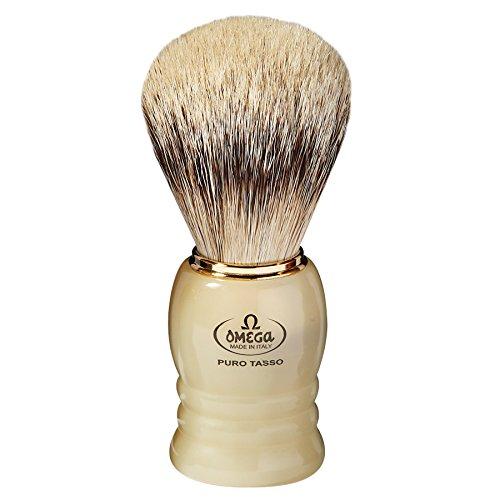 Omega 620 - Pennello da barba in puro tasso