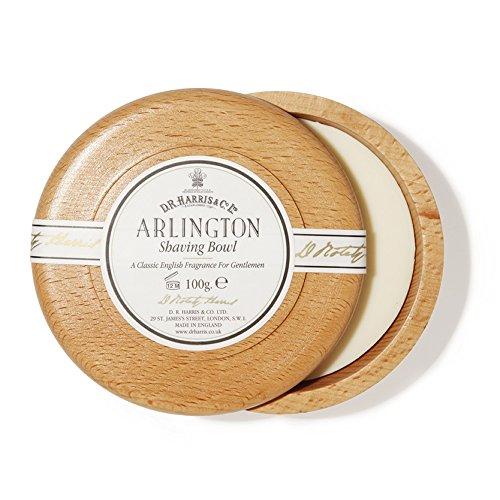 D. R. HARRIS Arlington Beech Shaving Bowl & Shaving Soap