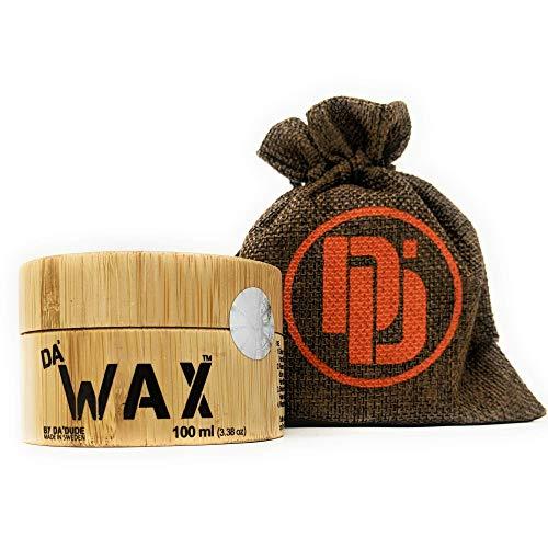 Da'Dude Da'Wax,Migliore Cera-Opaca-Per-Capelli-Uomo-Professionale Extra-Forte,In Un Esclusivo Contenitore in Legno e Confezione Regalo