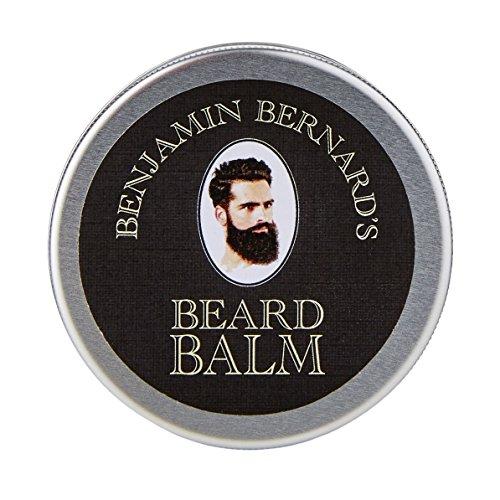 Beard Balm deluxe by Benjamin Bernard: Cera emolliente per barba da uomo, pomata per barba per una tenuta naturale - 100g - profumato