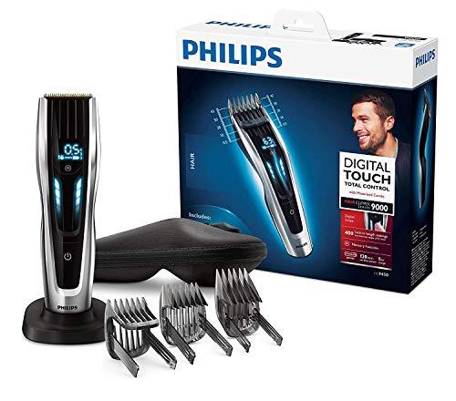 Philips HC9450 Tagliacapelli, ca/batteria, argento