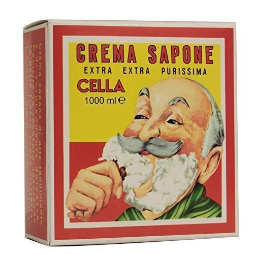 Cella Crema Sapone da Barba Panetto da 1KG – Nuova Formula