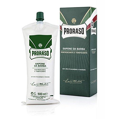 Sapone da Barba 500 ml Rinfrescante Tonificante
