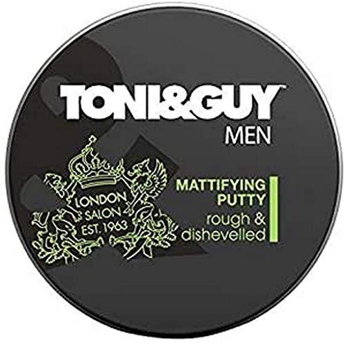 Toni & Guy - Men Styling Putty, Cera modellante per capelli, 75 ml (l'imballaggio può variare)