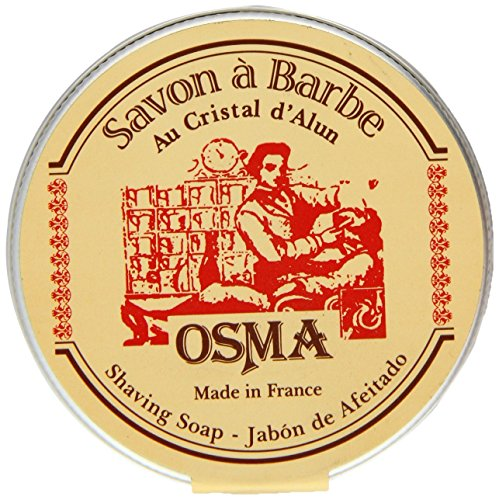 OSMA - Sapone da Barba ai cristalli di allume - 100 grammi