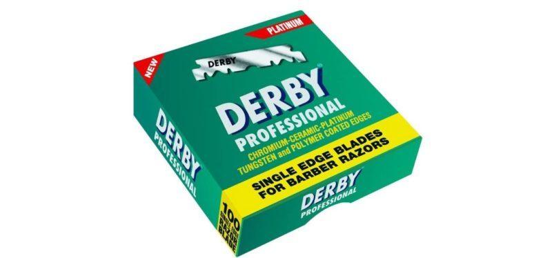lamette da barba Derby