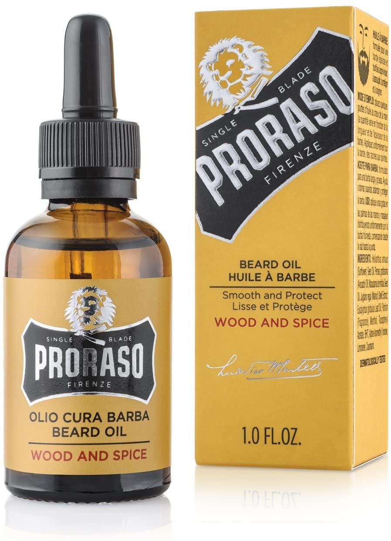 olio da barba Proraso